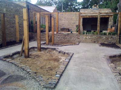 Further work to Narrow Garden